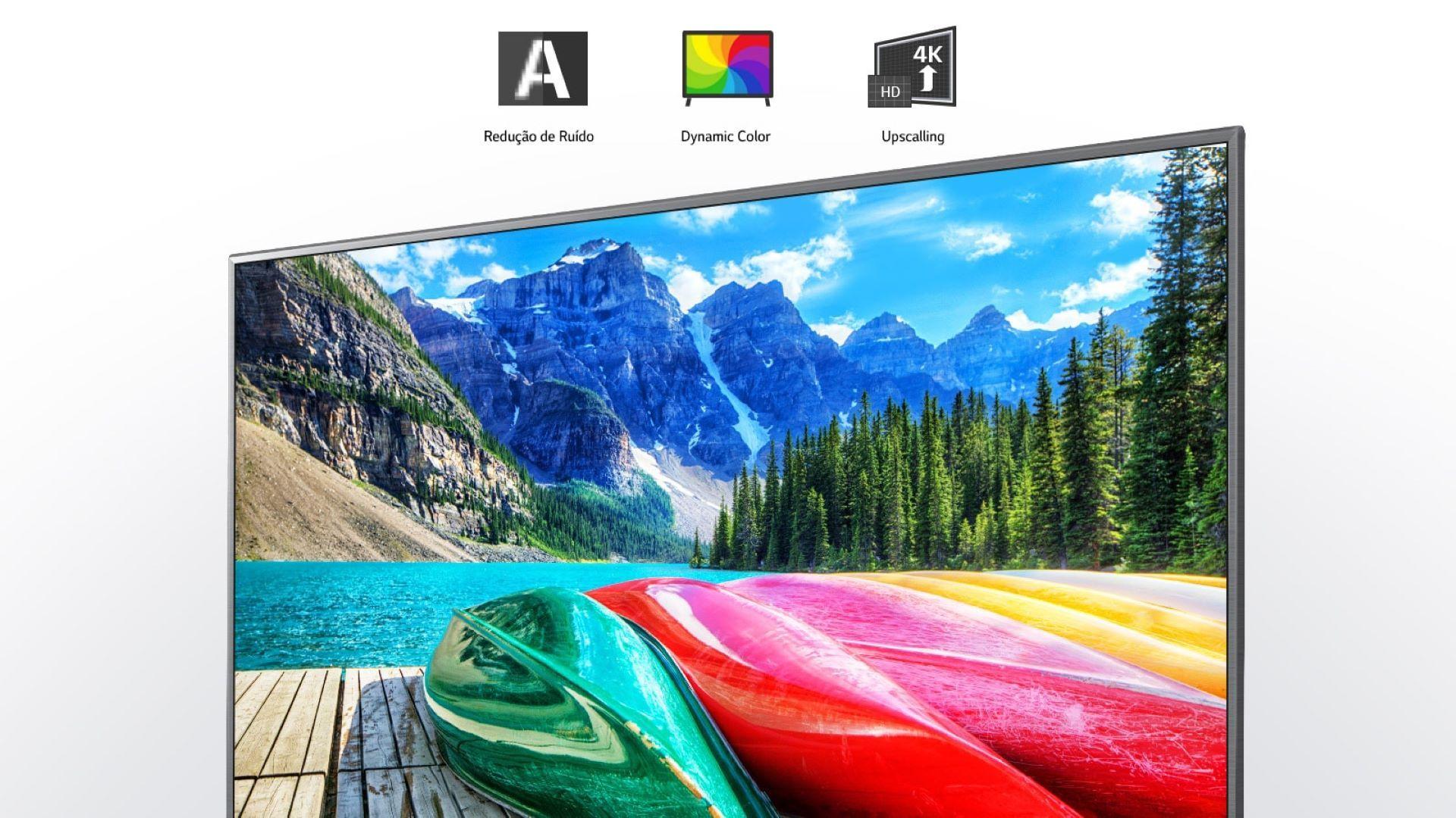 Processador converte imagem de baixa resolução para Ultra HD (Foto: Divulgação/ LG)