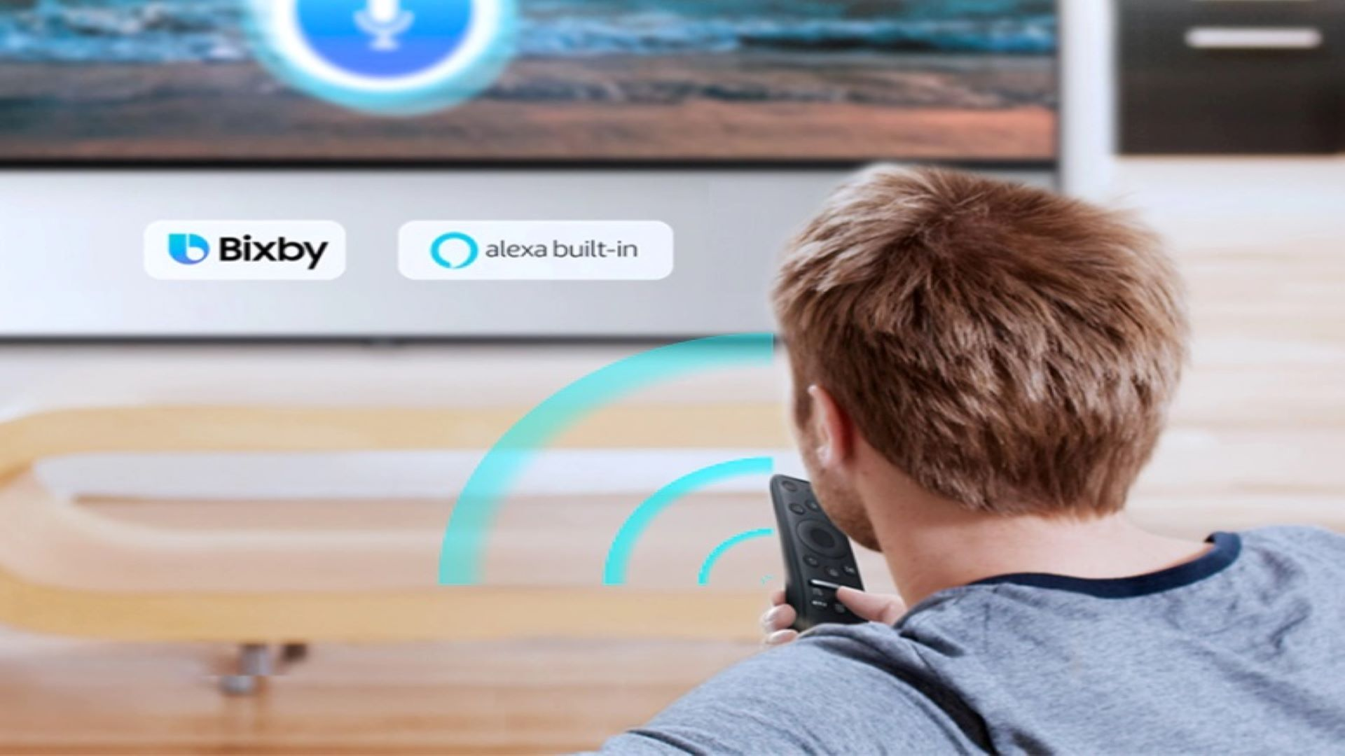 TVs Samsung suportam as assistentes Bixby e Alexa (Foto: Divulgação/ Samsung)