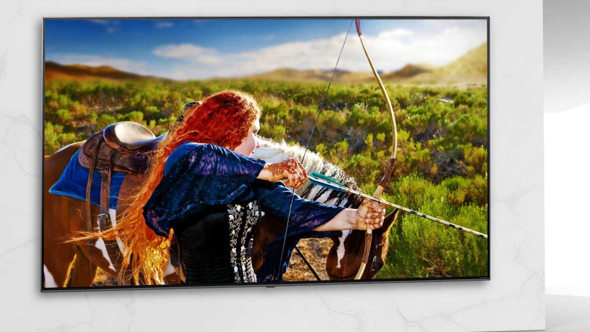 LG NANO86 é um dos modelos mais parrudos da linha NanoCell 2020 da marca. (Imagem: Reprodução/LG)