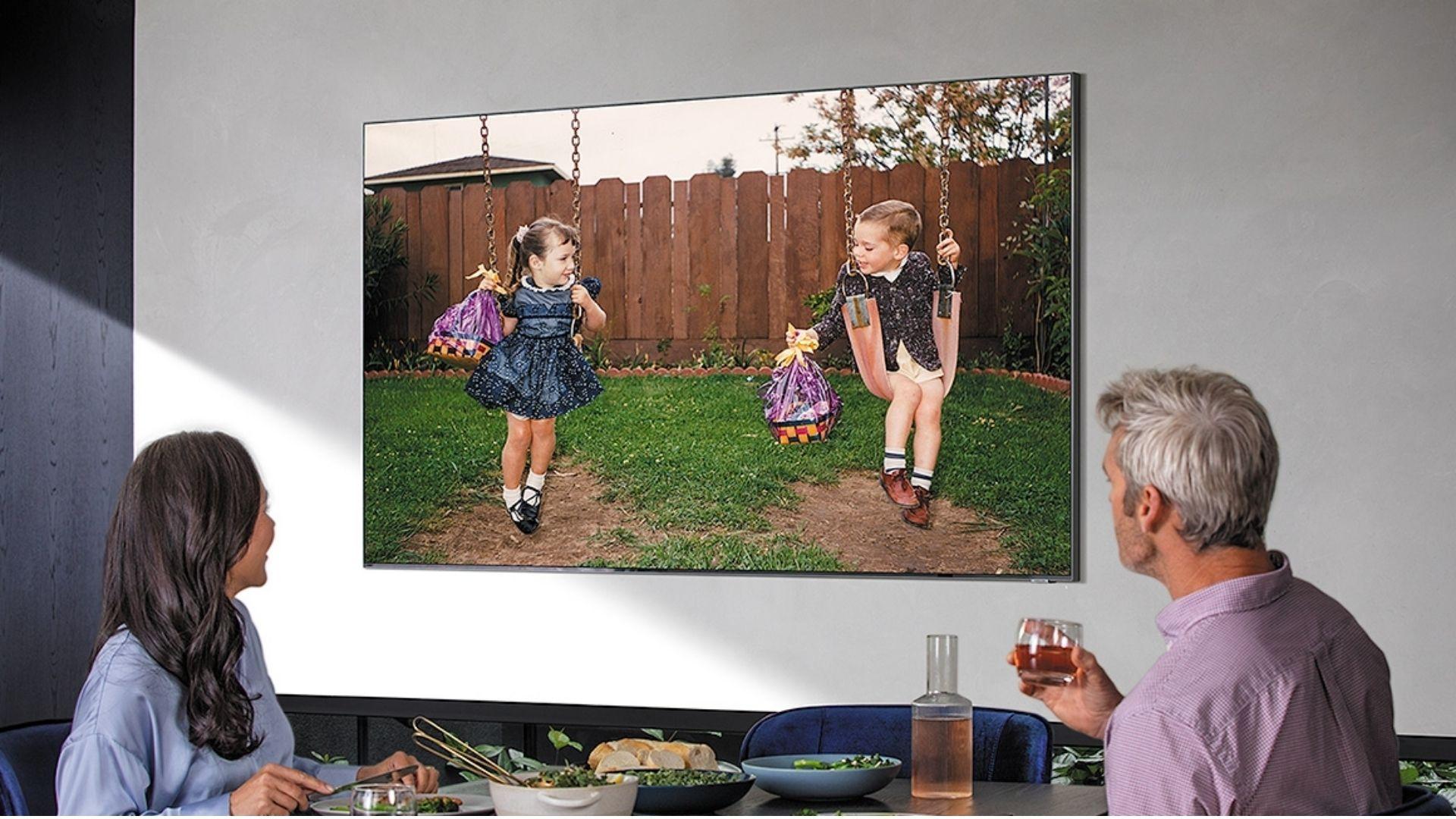 Samsung Q800T é uma TV 8K com tela QLED (Imagem: Divulgação/Samsung)