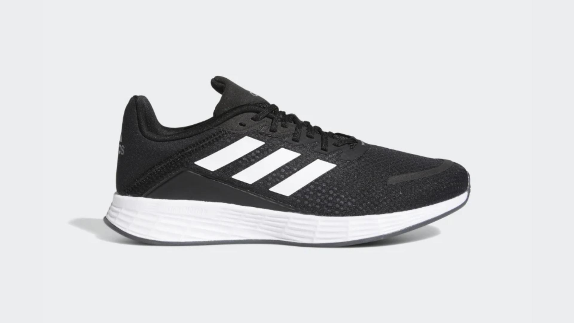 O Adidas Duramo SL é um tênis que funciona para corridas e caminhadas (Imagem: Divulgação/Adidas)