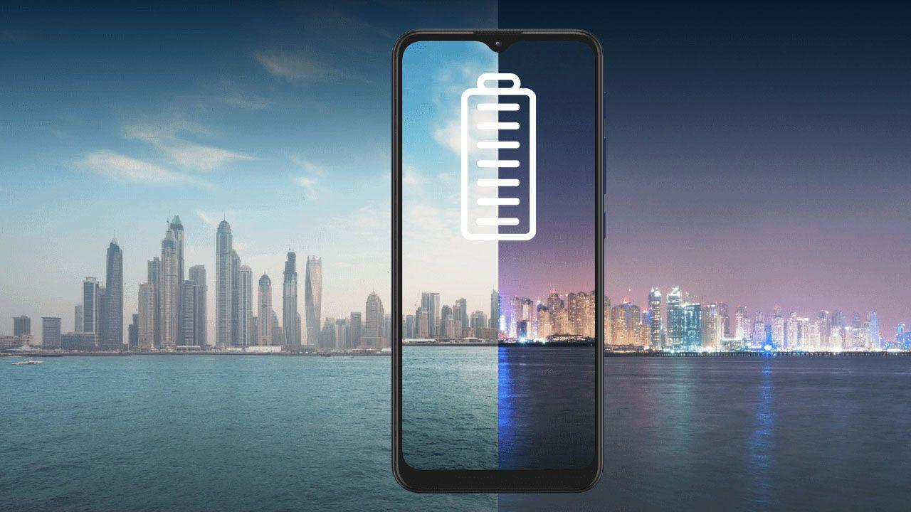O Moto G9 Play tem bateria para até dois dias. (Foto: Divulgação/Motorola)