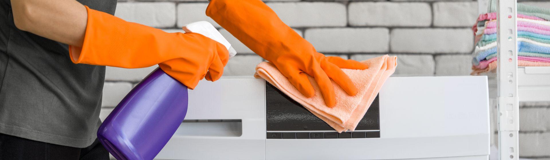 Como limpar máquina de lavar roupas