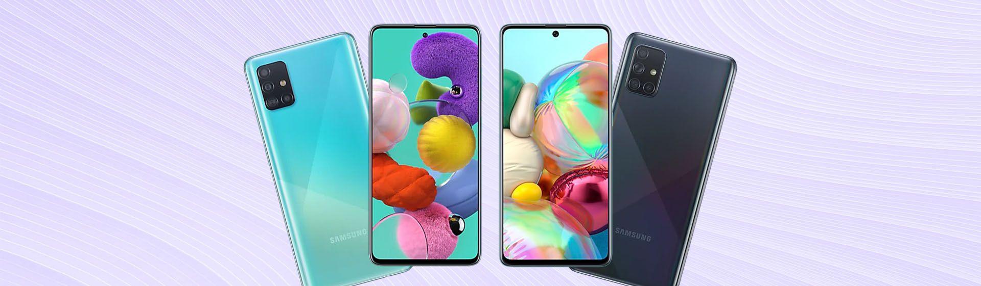 A51 vs A71: veja as diferenças entre os celulares Samsung