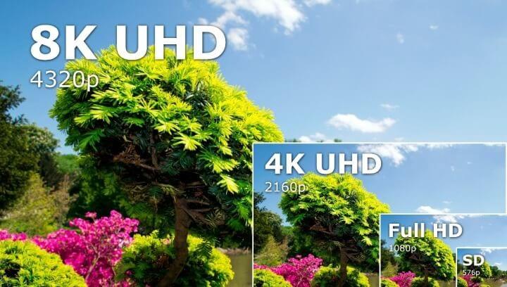 Smart TVs 8K garantem quatro vezes mais qualidade que as 4K (Imagem: Shutterstock)
