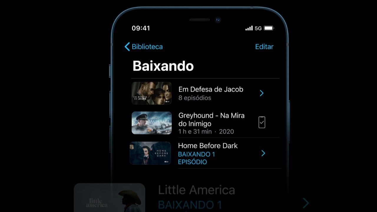 Com o 5G os usuários poderão baixar arquivos grandes em segundos (Foto: Divulgação/Apple)