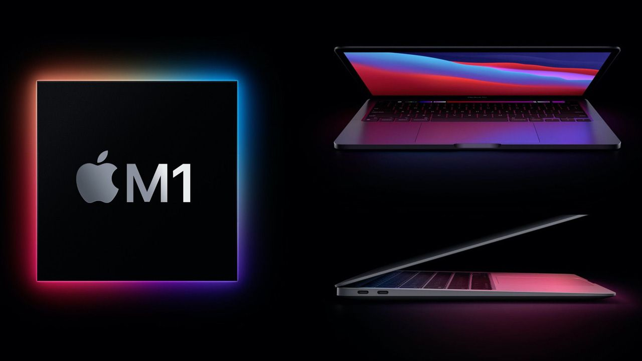 MacBook Pro e MacBook Air com M1. (Foto: Divulgação/Apple)
