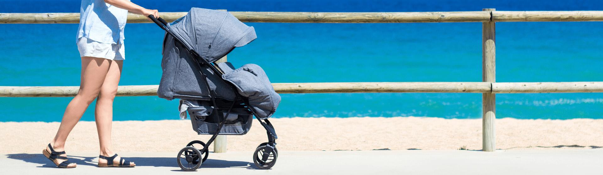 Carrinho de bebê com capota: 8 opções para se proteger no verão