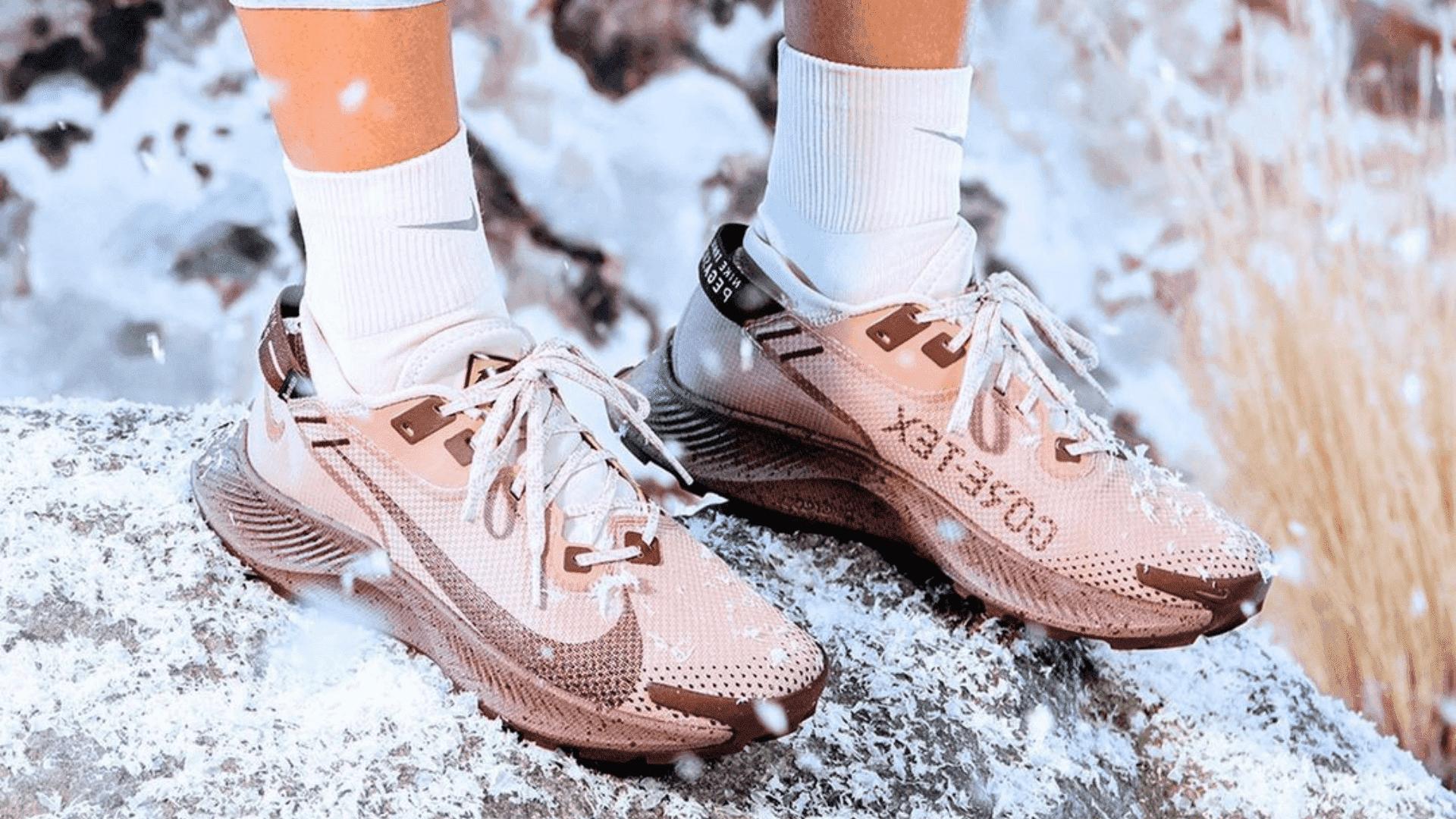 O Nike Pegasus Trail 2 GORE-TEX é um tênis à prova d'água, mas ainda não chegou ao Brasil (Divulgação/Nike)