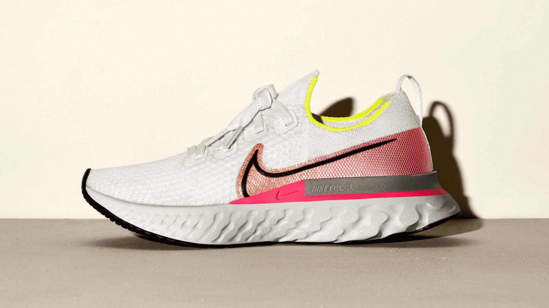 O Nike React Infinity Run é um tênis projetado para reduzir lesões (Imagem: Divulgação/Nike)