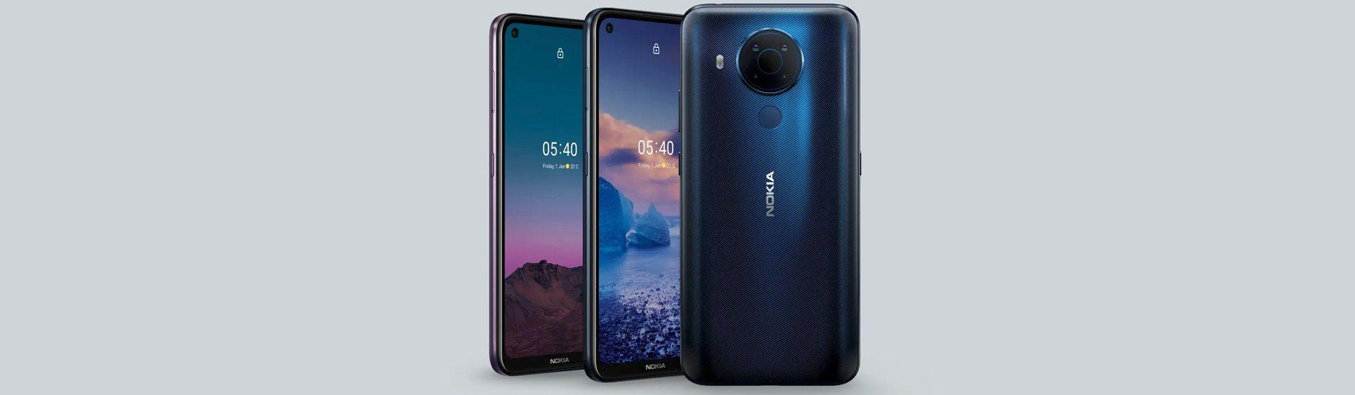 Nokia lança o Nokia 5.4, celular barato com câmera de 48 MP