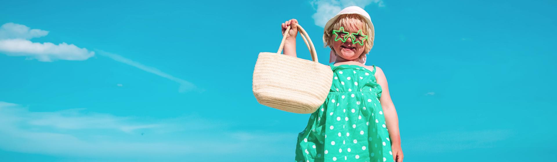 Bolsa de praia para bebê: o que levar para a praia com o bebê?