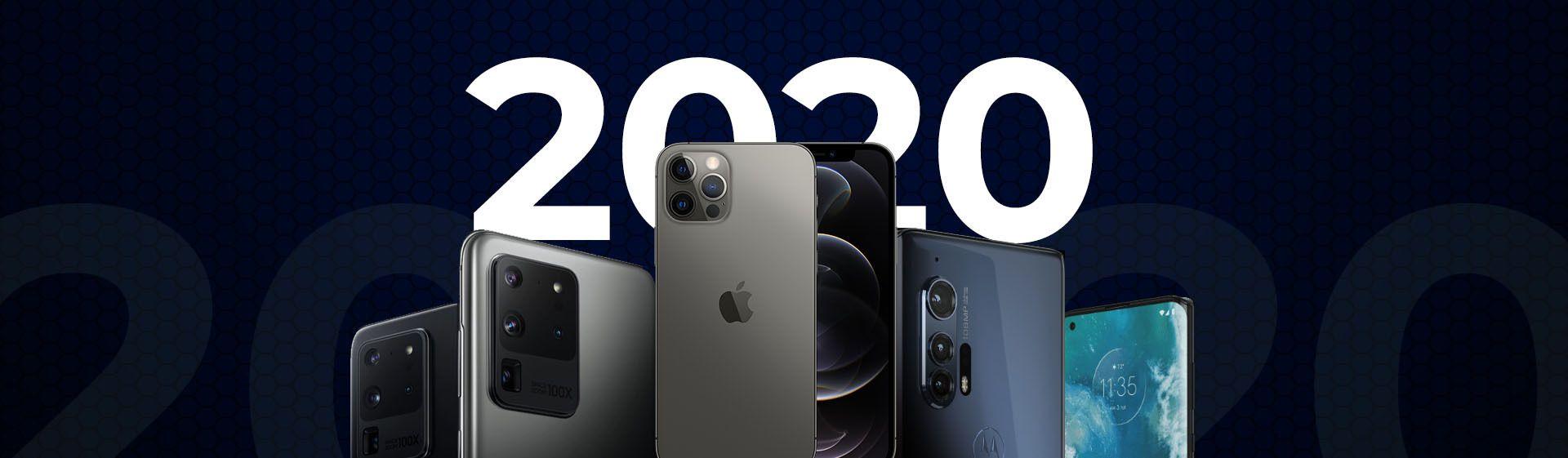 Retrospectiva 2020: confira os principais lançamentos de celulares