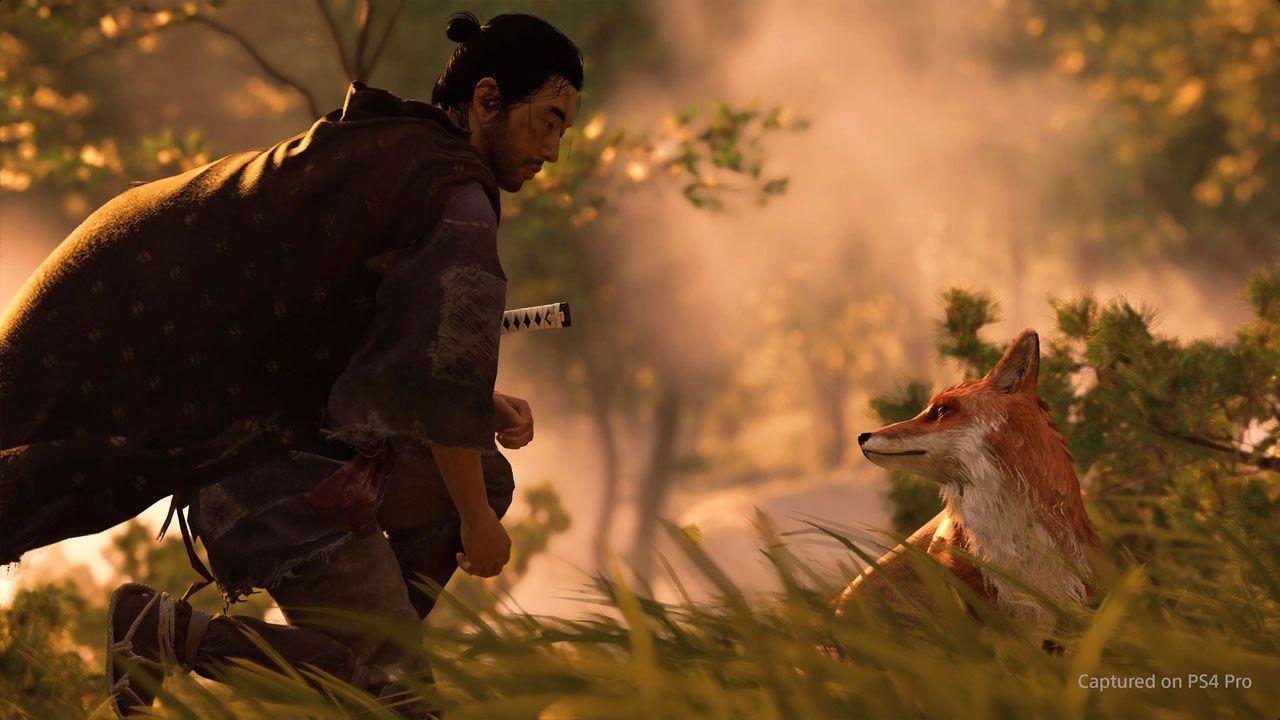 Em Ghost of Tsushima o jogador terá que escolher entre a honra de um samurai ou o caminho do fantasma (Reprodução: PlayStation Blog)