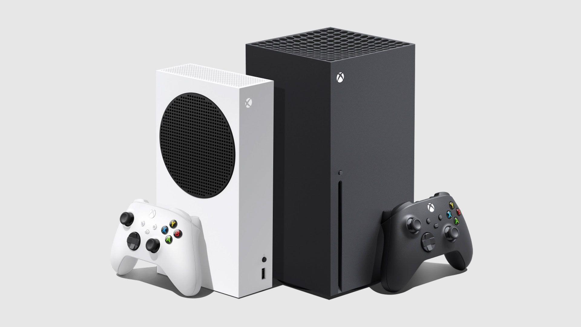 O Xbox Series X (Direita) e Series S (Esquerda) foram os primeiros consoles da nova geração em 2020 (Divulgação: Xbox)