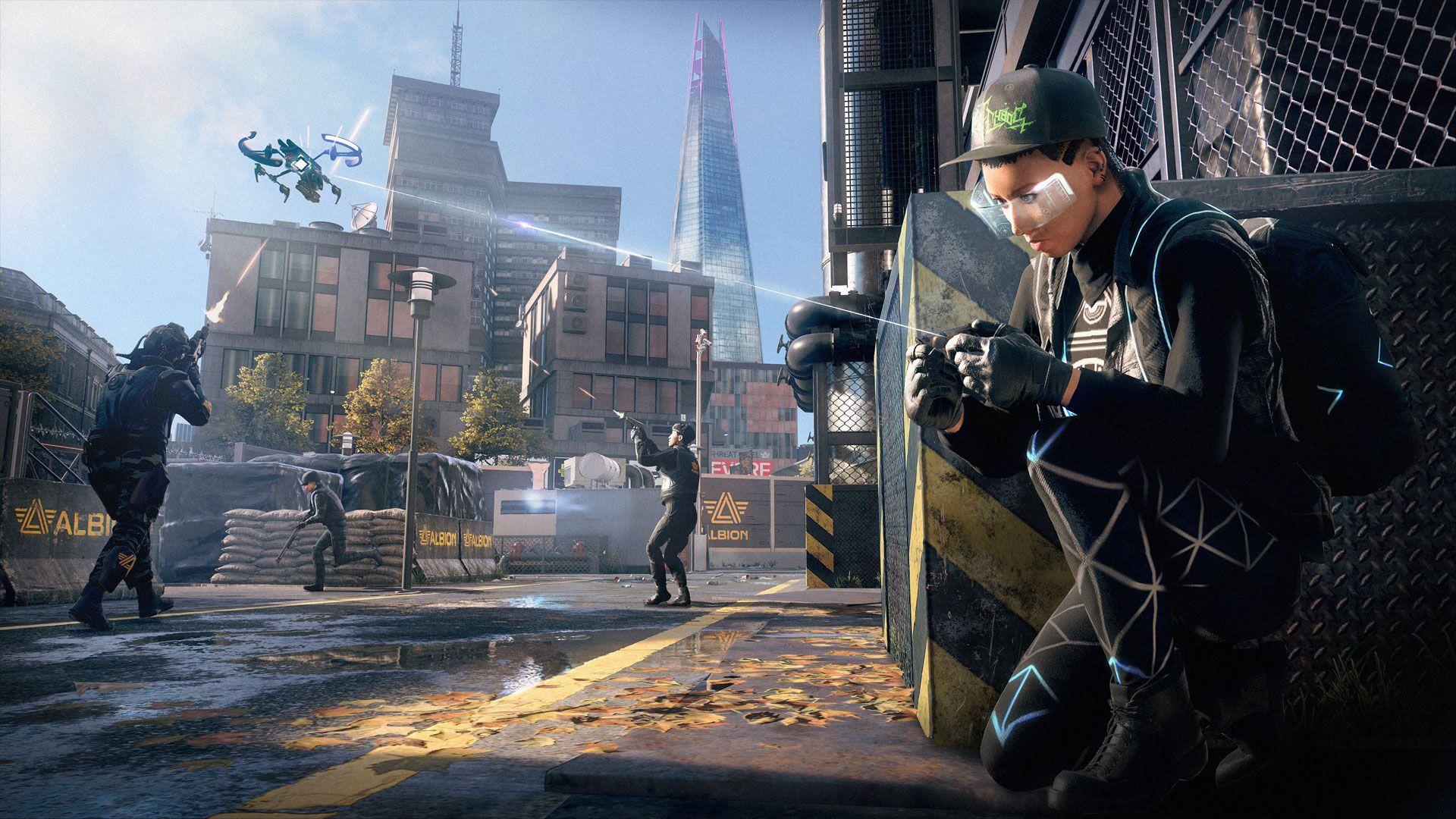Watch Dogs: Legion traz um conceito ambicioso de poder recrutar qualquer personagem no game (Reprodução: PlayStation)