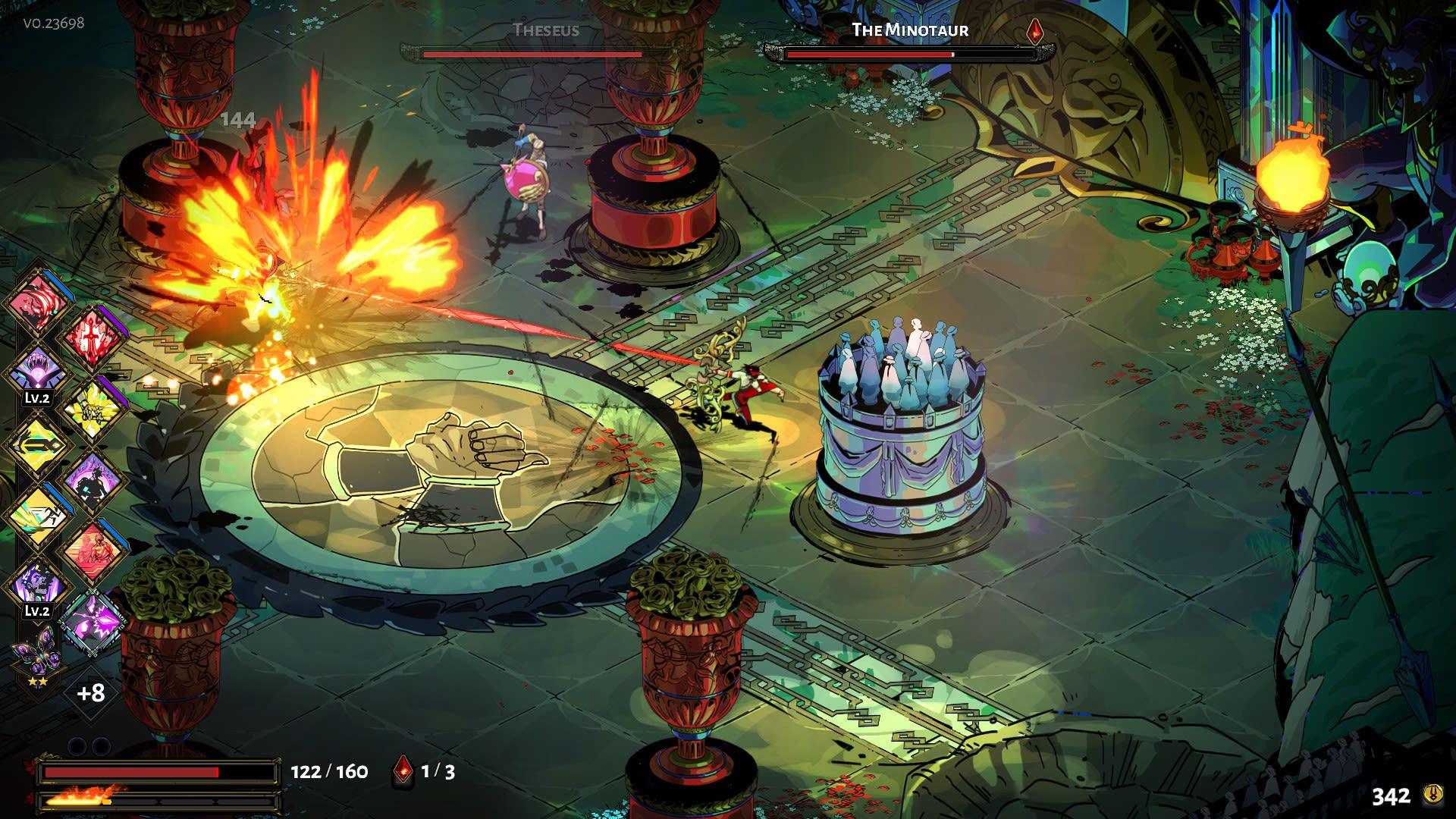 """O game independente Hades que mistura """"rogue"""" com mitologia grega foi uma das surpresas do ano (Divulgação: Supergiant Games)"""