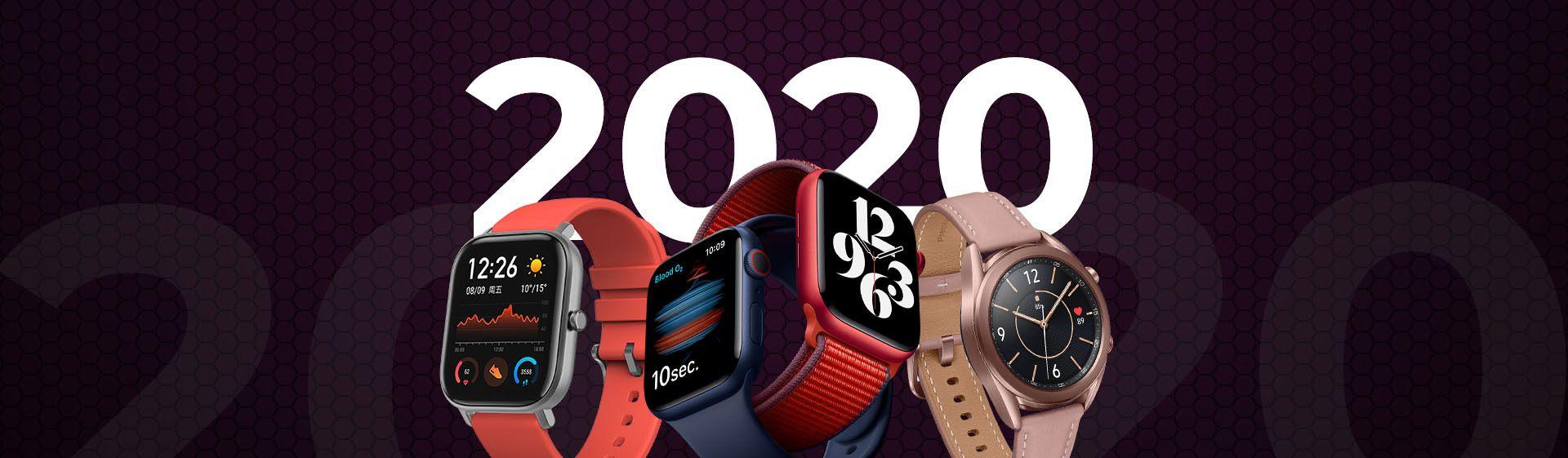 Restrospectiva 2020: relembre os smartwatches e smartbands lançados esse ano