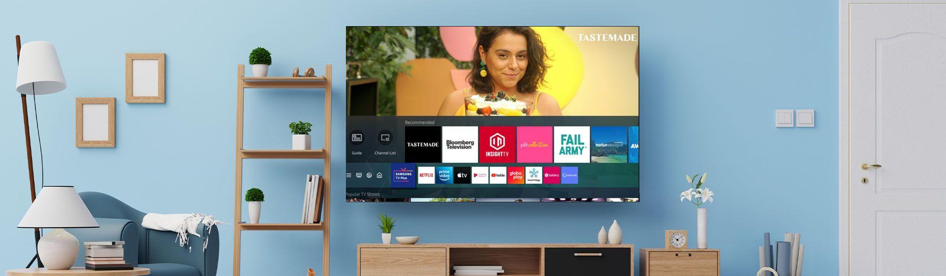Samsung TV Plus é o novo streaming da marca; confira mais detalhes
