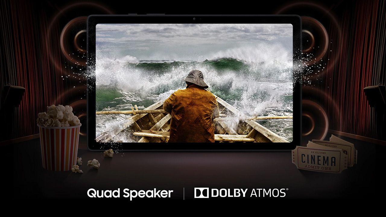 O Galaxy Tab A7 é ótimo para assistir séries e filmes (Foto: Divulgação/Samsung)