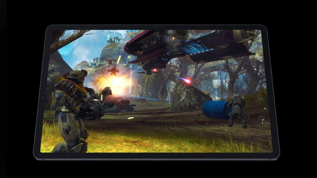 Os tablets possuem processadores que rodam qualquer jogo da Play Store (Foto: Divulgação/Samsung)