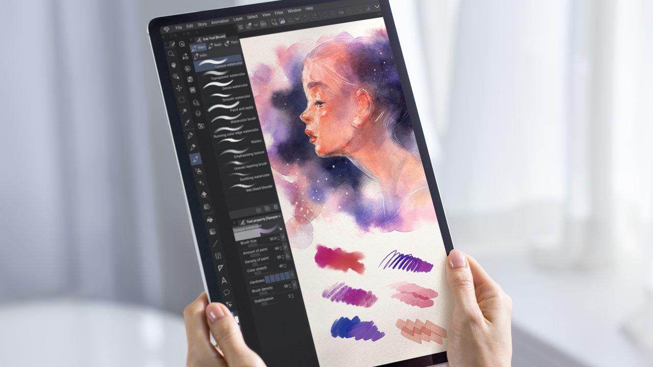 A linha Tab S7 é ótima para desenhos a nível profissional (Foto: Divulgação/Samsung)