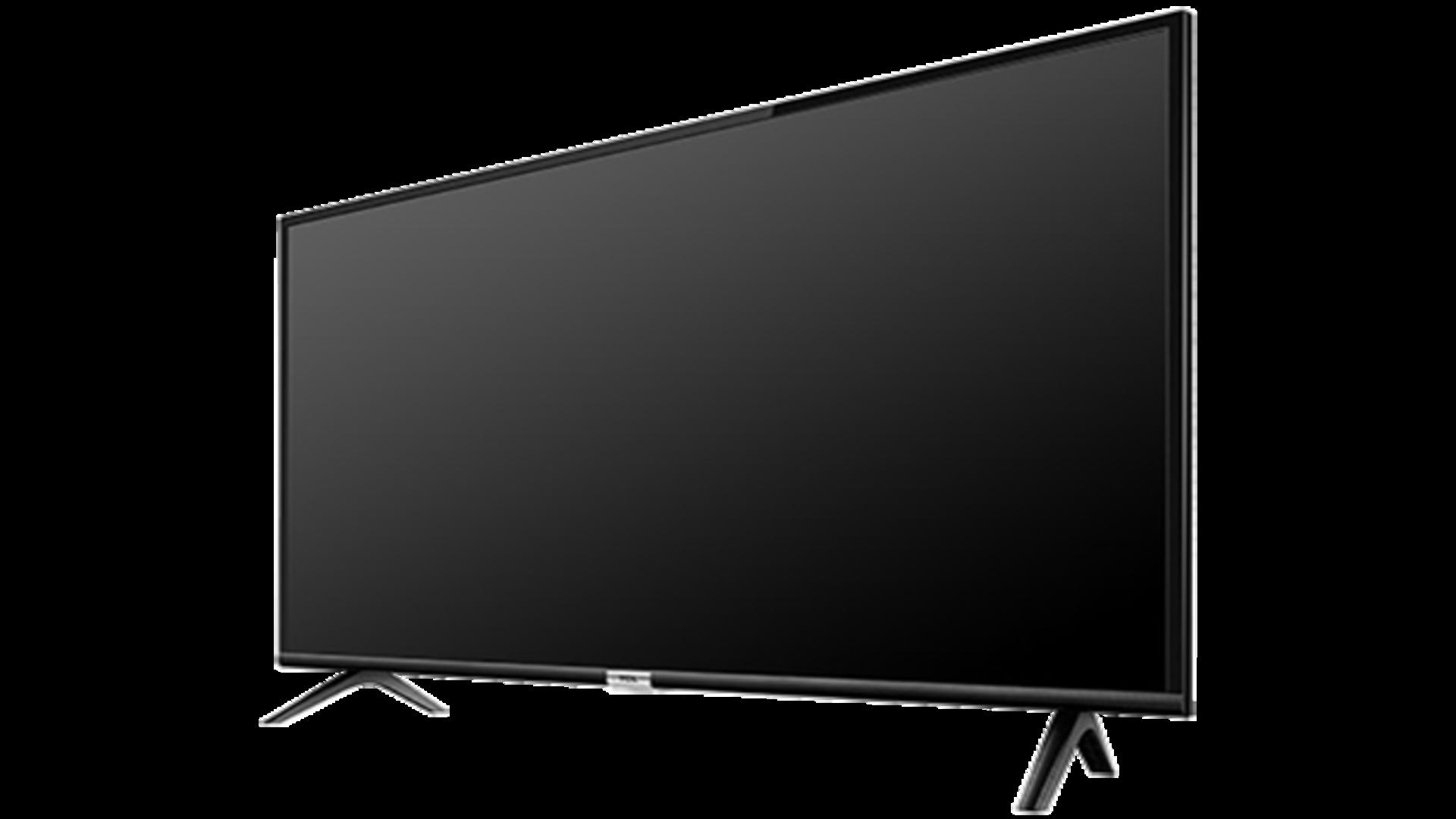 A TCL aposta em um design de espessura slim com borda fina para o modelo da smart TV S6500 (Imagem: Divulgação/TCL).