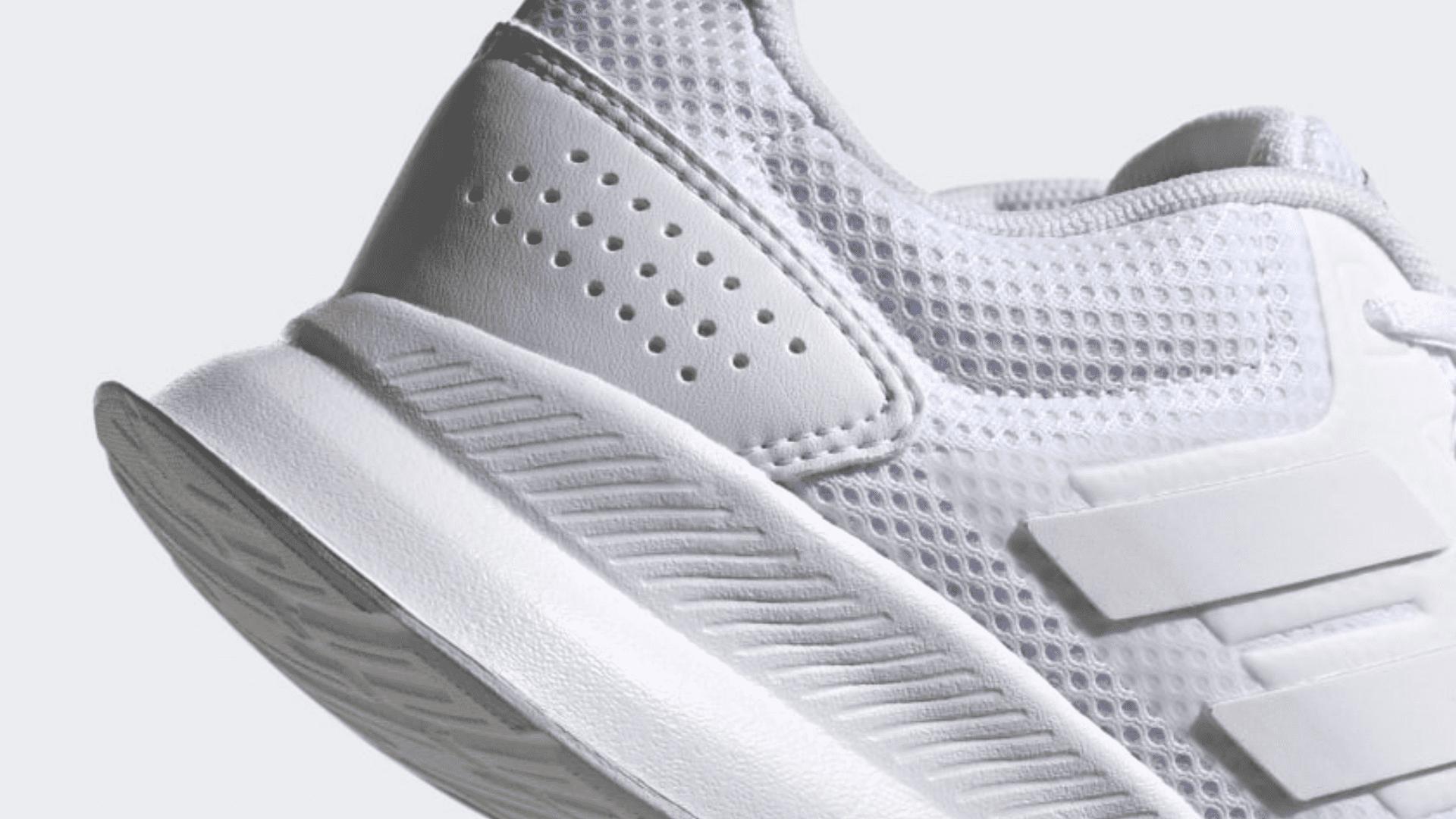 O Adidas Run Falcon garante um amortecimento leve e macio (Imagem: Divulgação/Adidas)