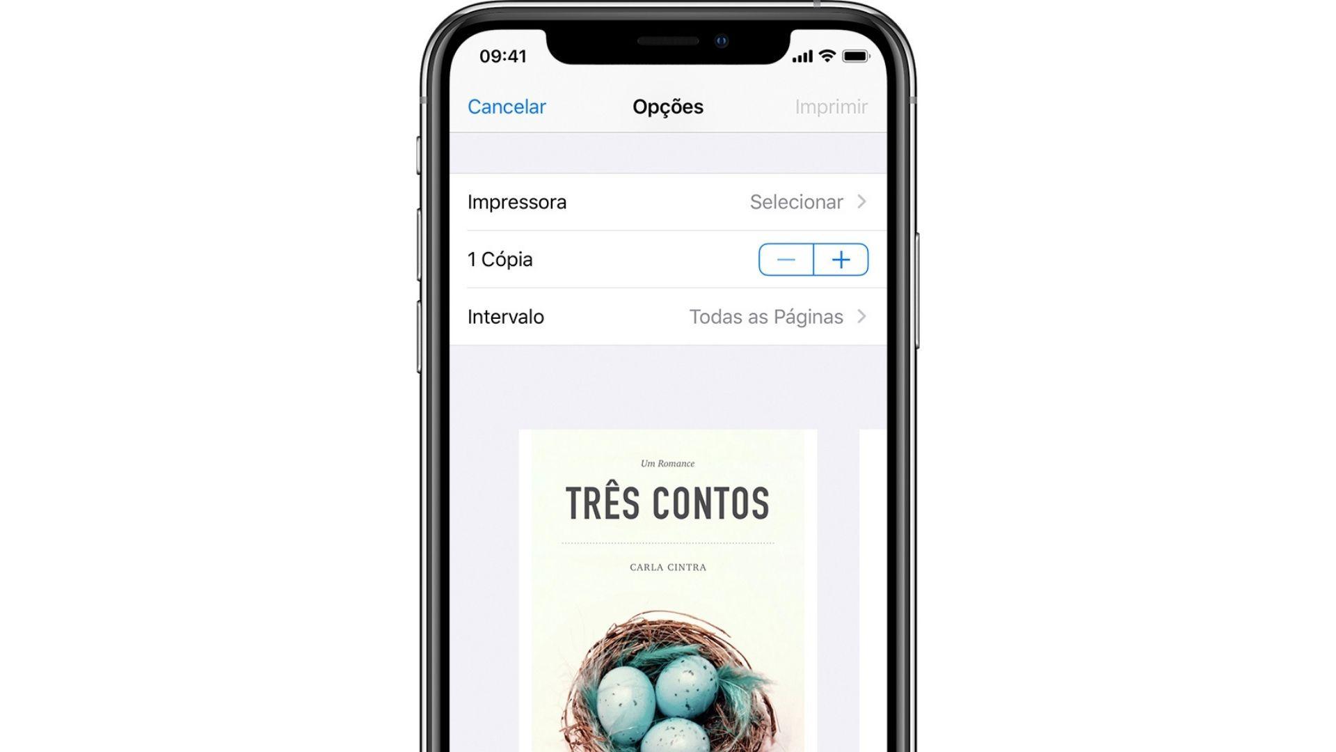 Como imprimir do celular para impressora: AirPrint é o aplicativo da Apple para iPhone (Foto: Reprodução/Apple)