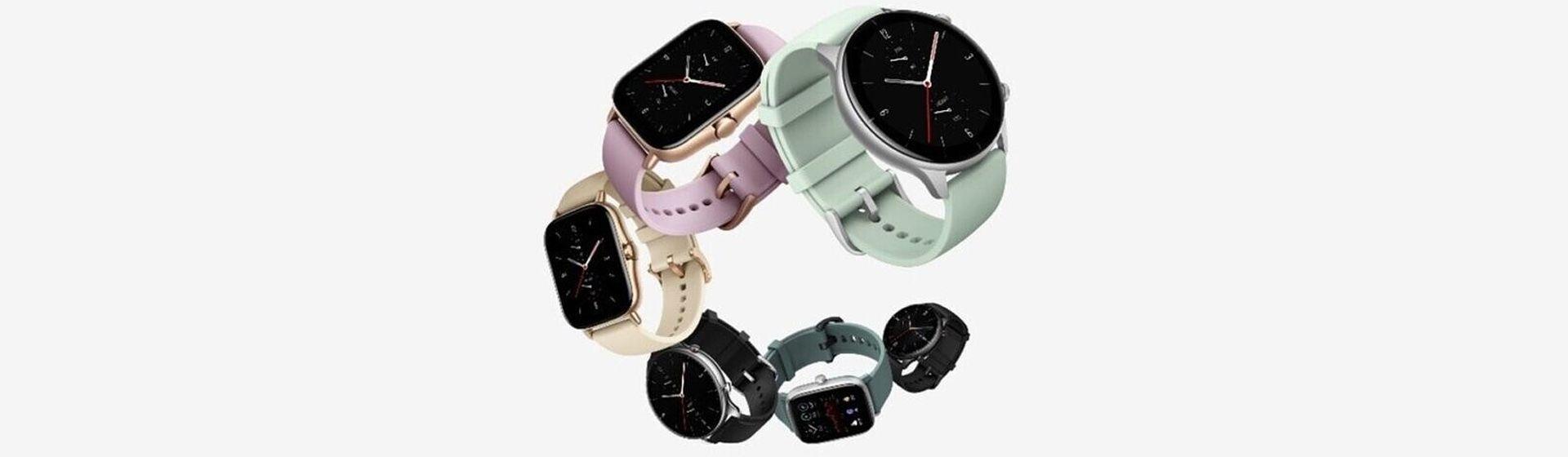 Xiaomi lança smartwatches Amazfit GTS 2, GTS 2e, GTS 2 Mini, GTR 2, GTR 2 LTE e GTR 2e