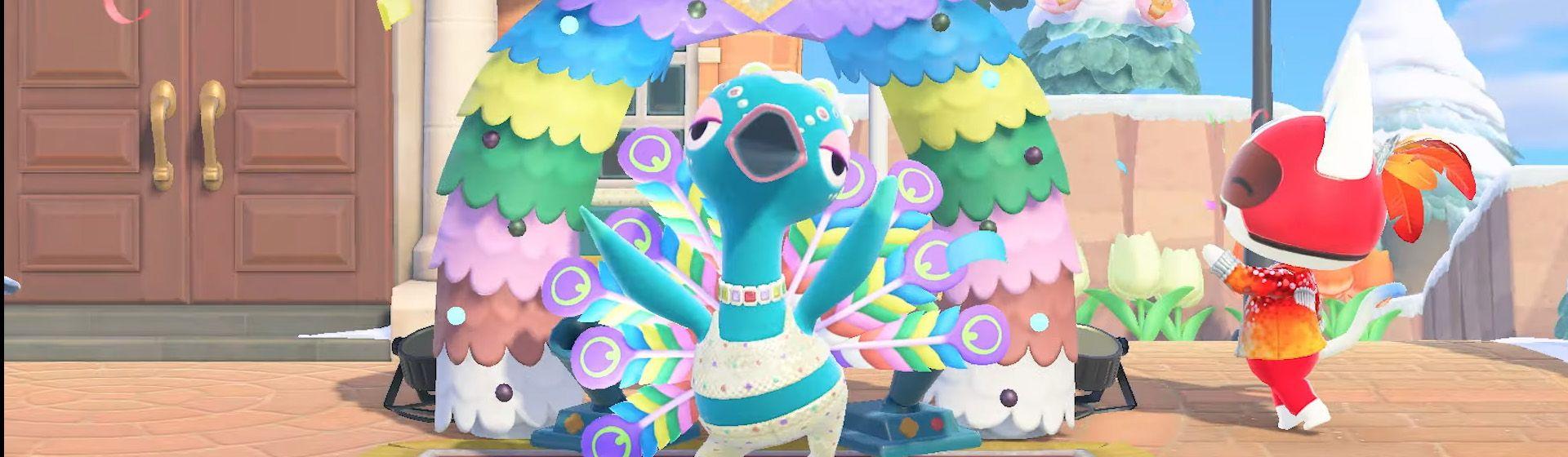 Animal Crossing: New Horizons recebe atualização temática de carnaval