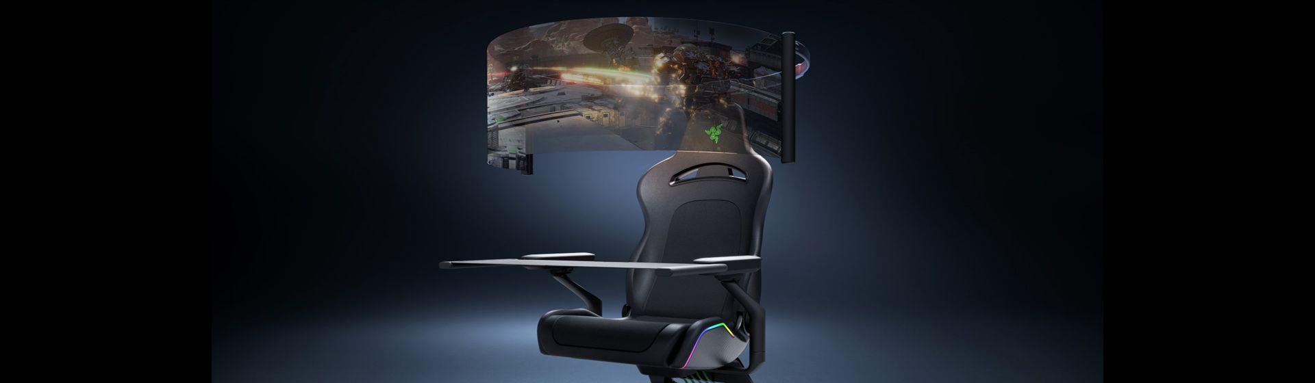 Cadeira gamer imersiva é novidade da Razer na CES 2021