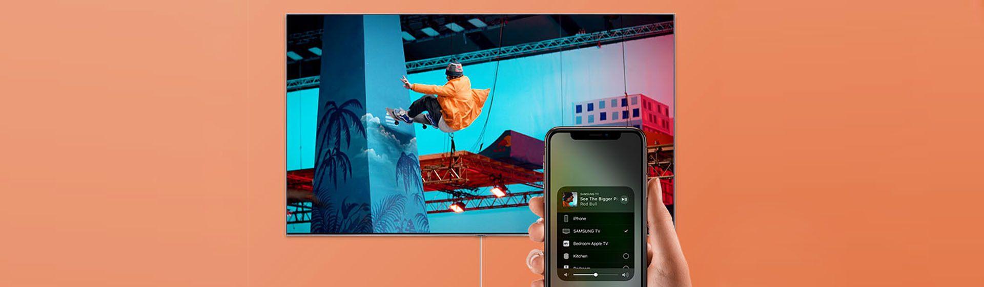 Como conectar o celular na TV Samsung?