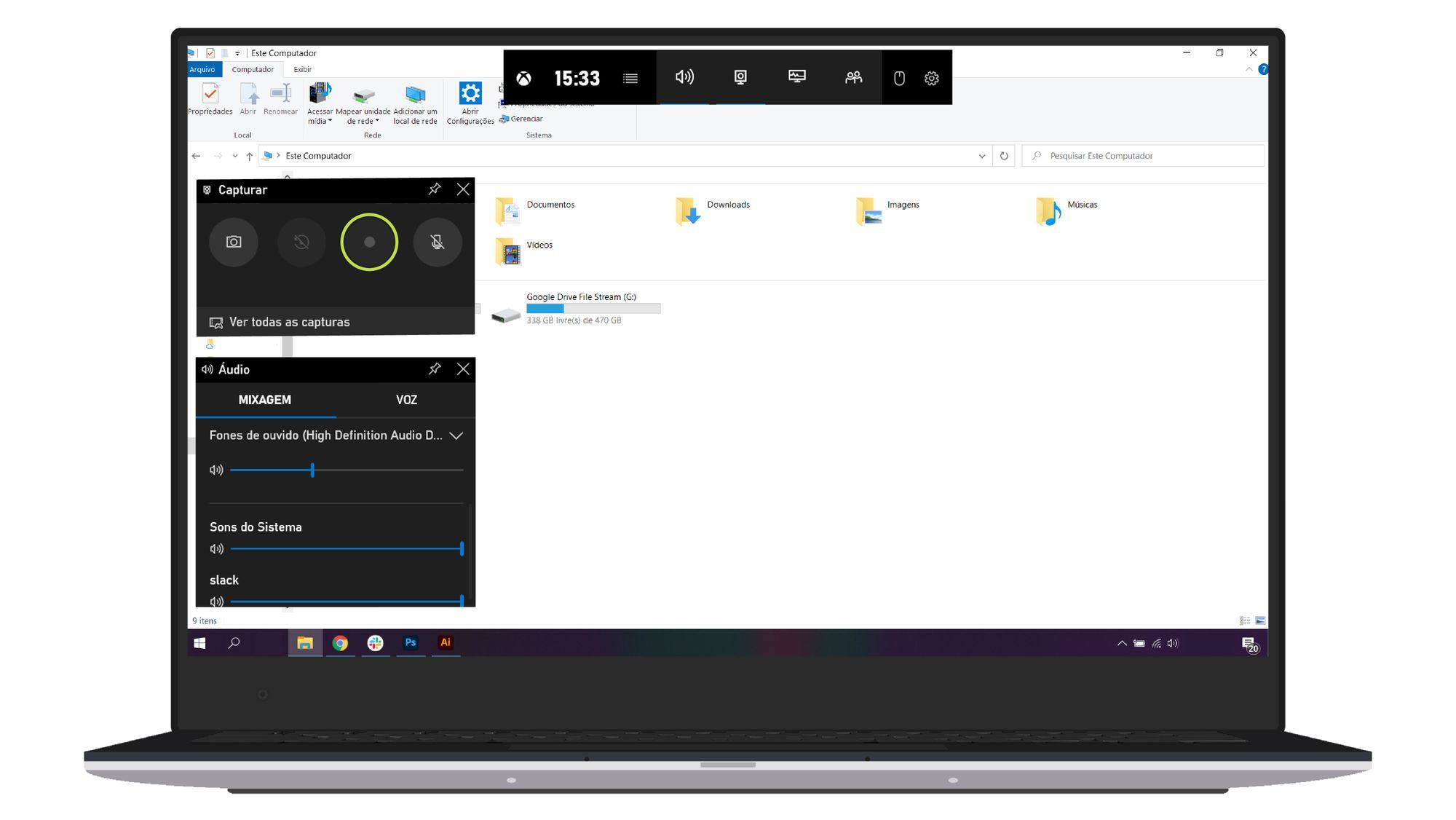 Como gravar a tela do seu PC