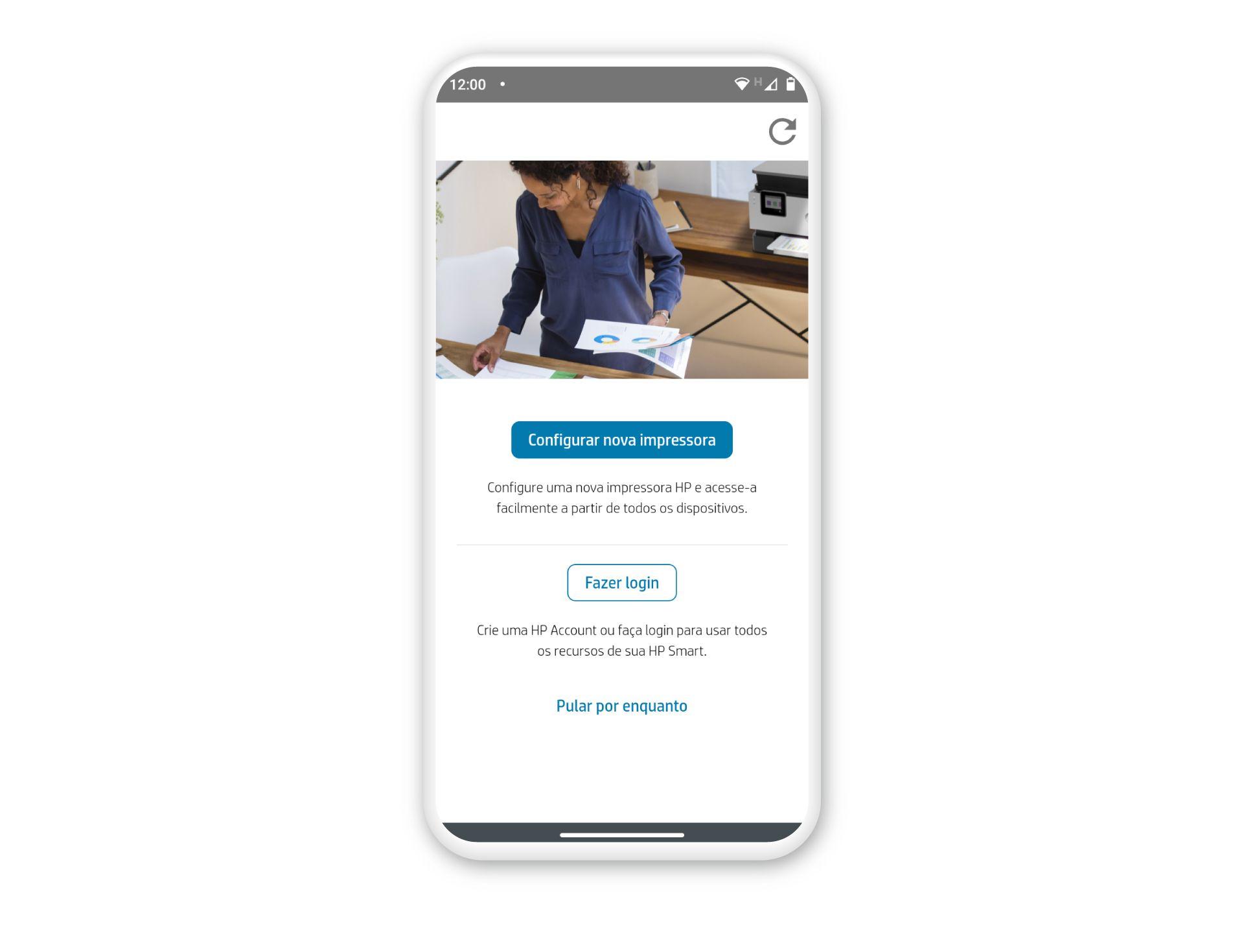 Como imprimir pelo celular para impressora: aplicativo HP Smart é muito fácil de configurar (Foto: Arte/Zoom)