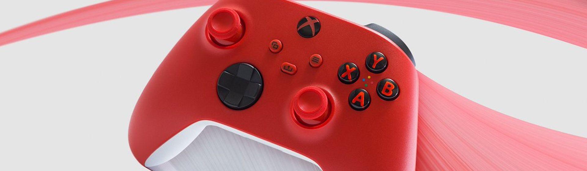 Controle de Xbox na cor vermelha é lançado pela Microsoft