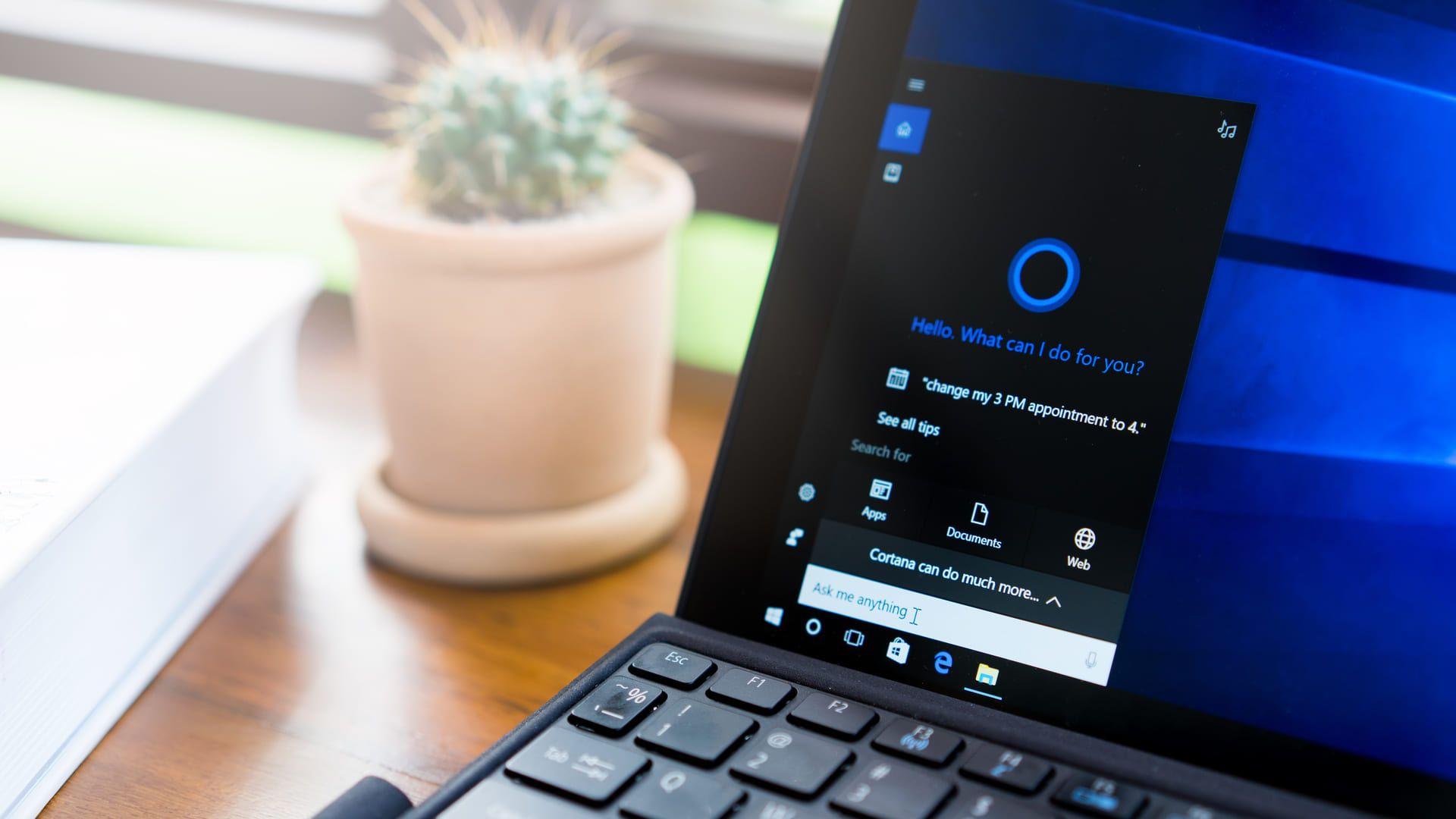 Cortana é a assistente presente no Windows (yougoigo/Shutterstock)