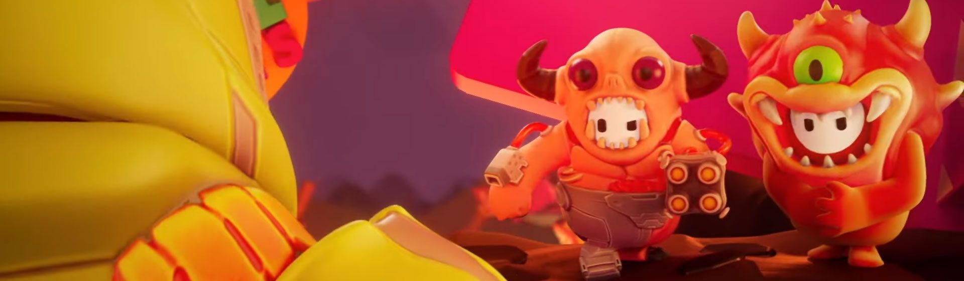 Fall Guys faz crossover com Doom