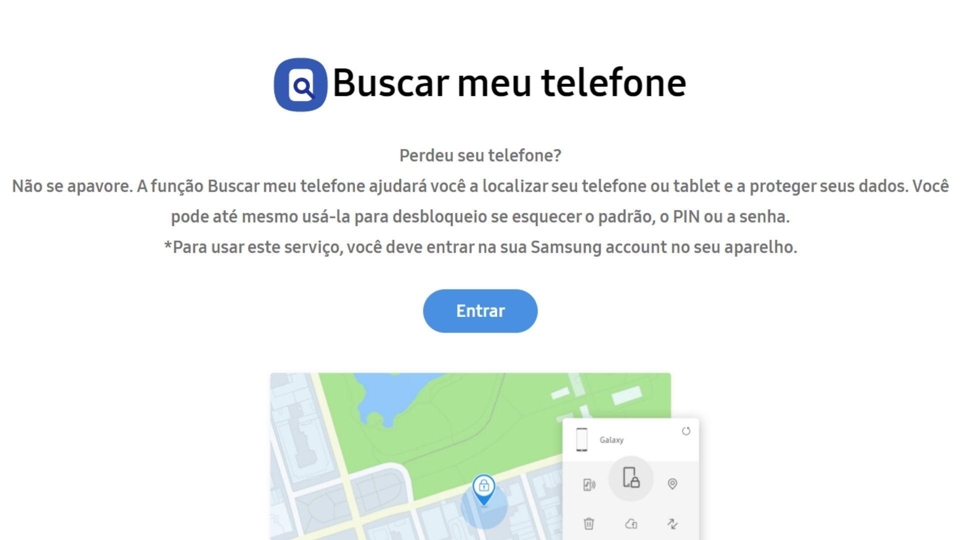 """Como desbloquear celular Samsung usando o """"Find My Mobile"""" (Foto: Arte / Zoom)"""