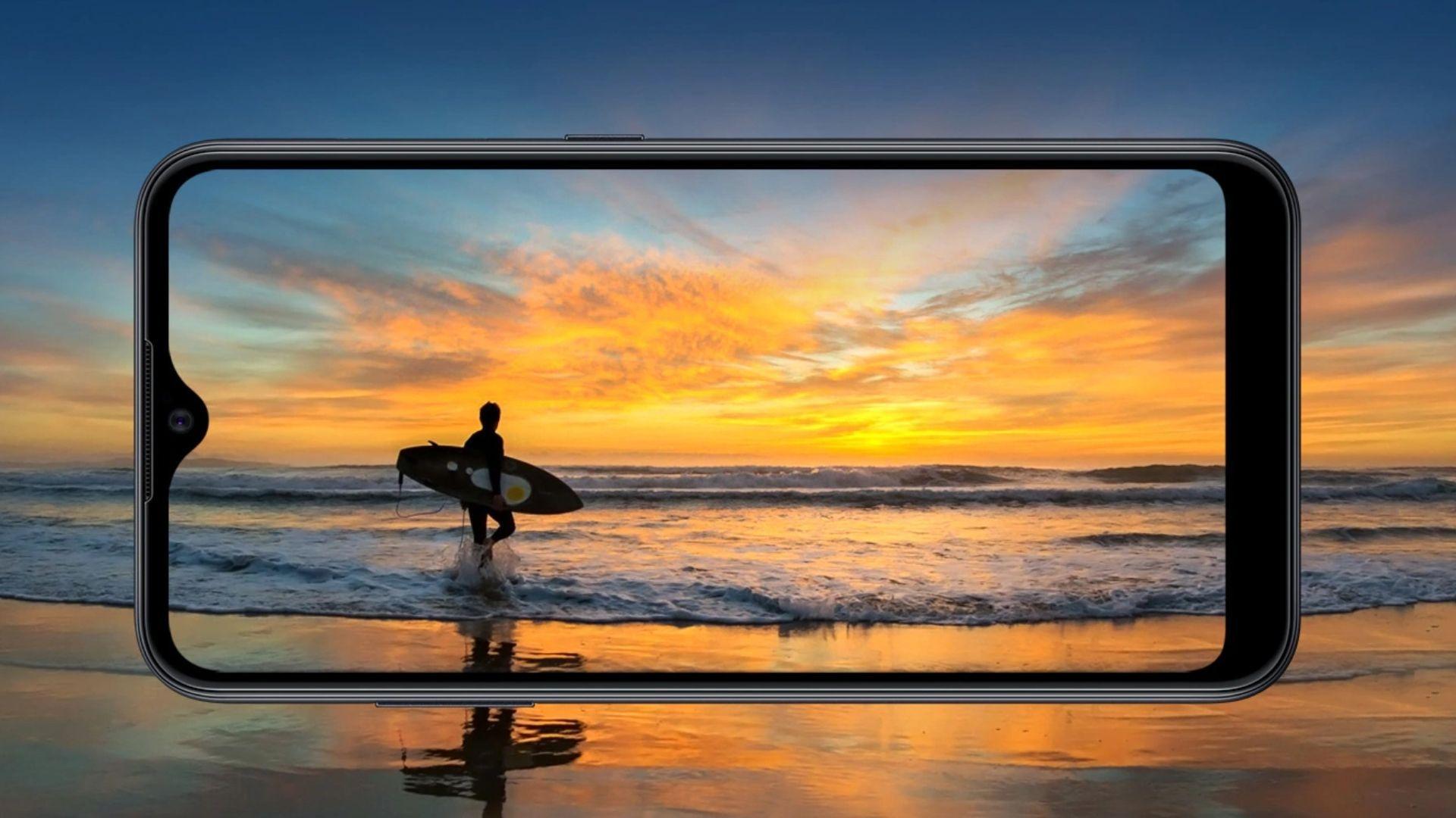 Samsung A01 tem desempenho básico, com 2 GB de RAM (Foto: Divulgação/Samsung)