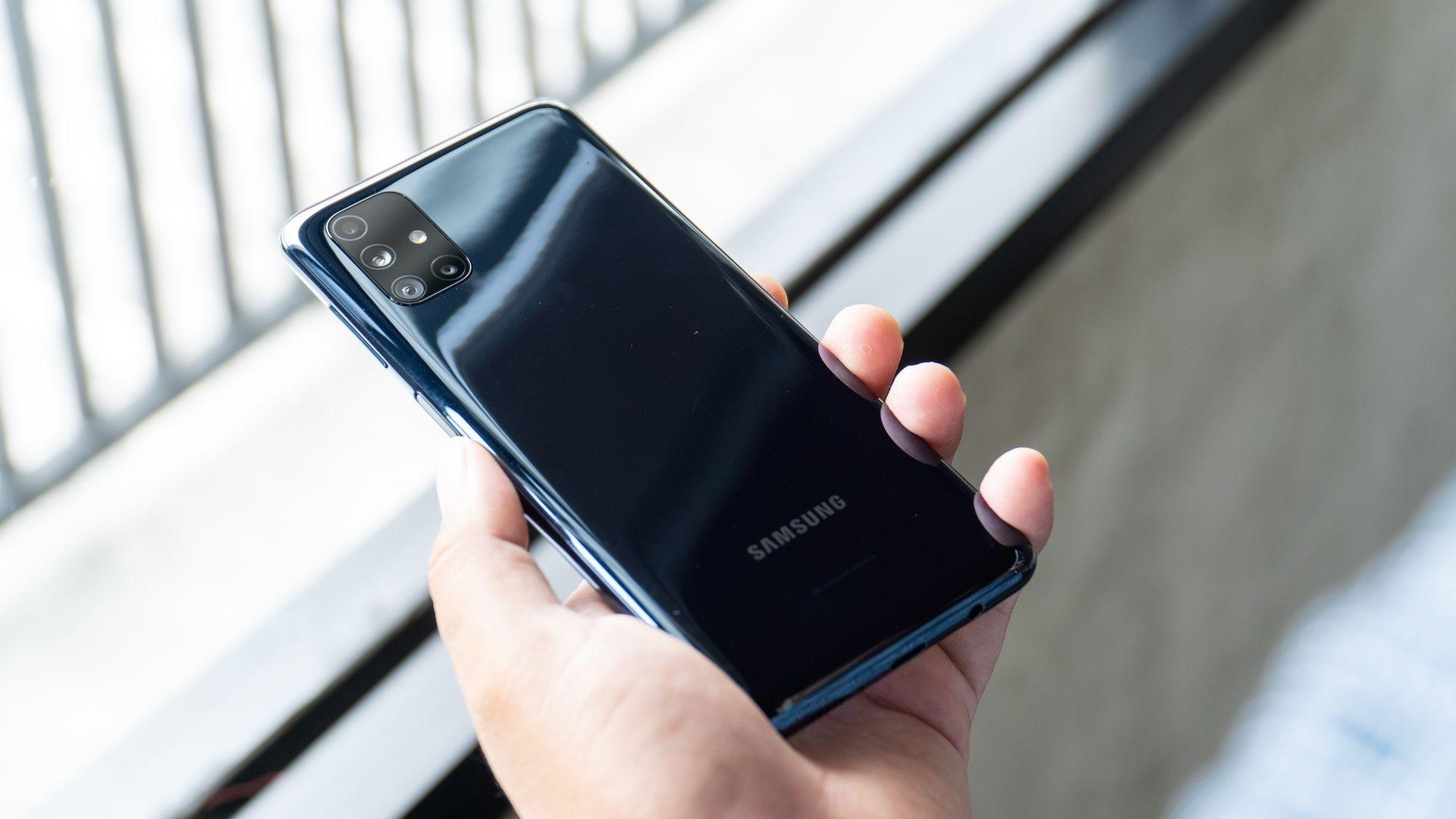 Samsung Galaxy M51 (Crédito: Shutterstock)