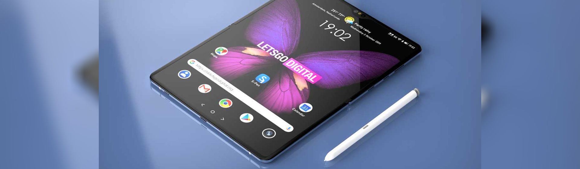 Samsung Galaxy Z Fold 3 com S Pen: canal cria vídeo do novo dobrável