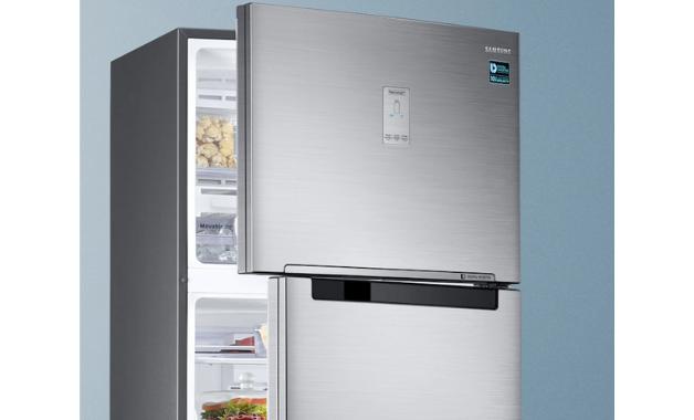 O design clean traz elegância e modernidade para sua cozinha. (Imagem:Divulgação/Samsung)