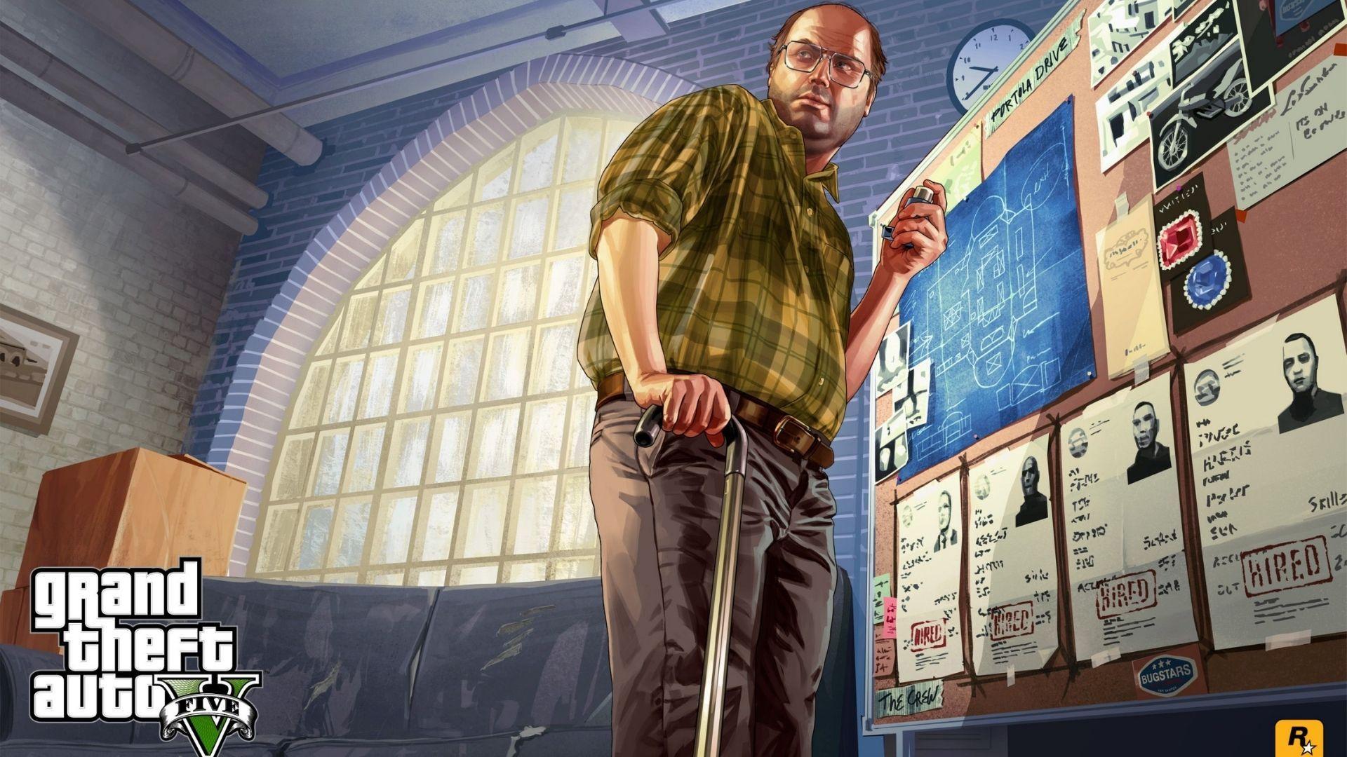 Códigos GTA 5: missões de assassinato do Lester são a melhor oportunidade para investir na bolsa (Divulgação / Rockstar)