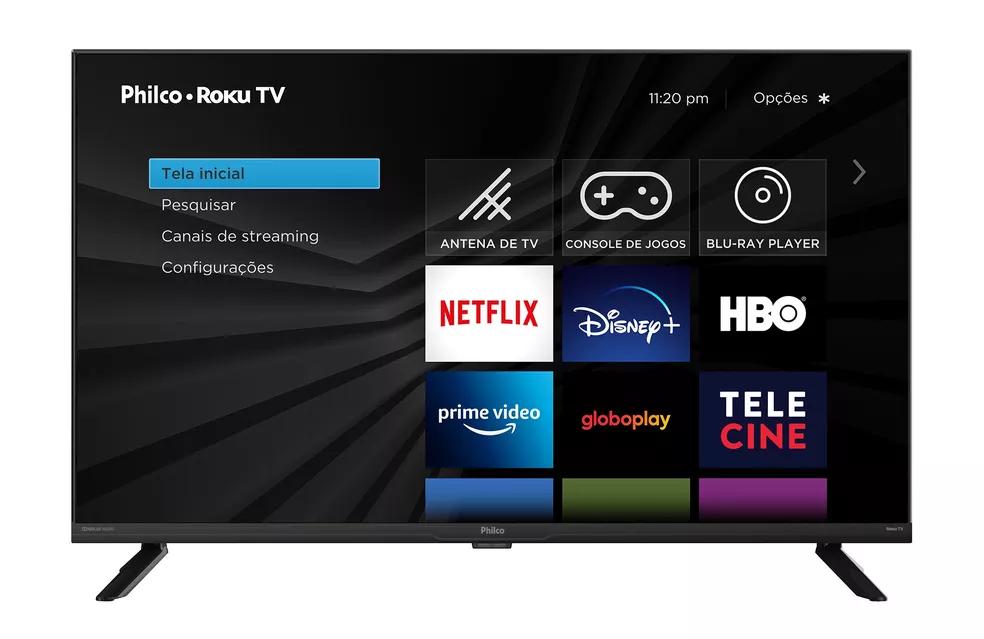 Conheça o lançamento da Philco: A Roku TV com Dolby Audio e HDR10 (Imagem: Divulgação/Philco)