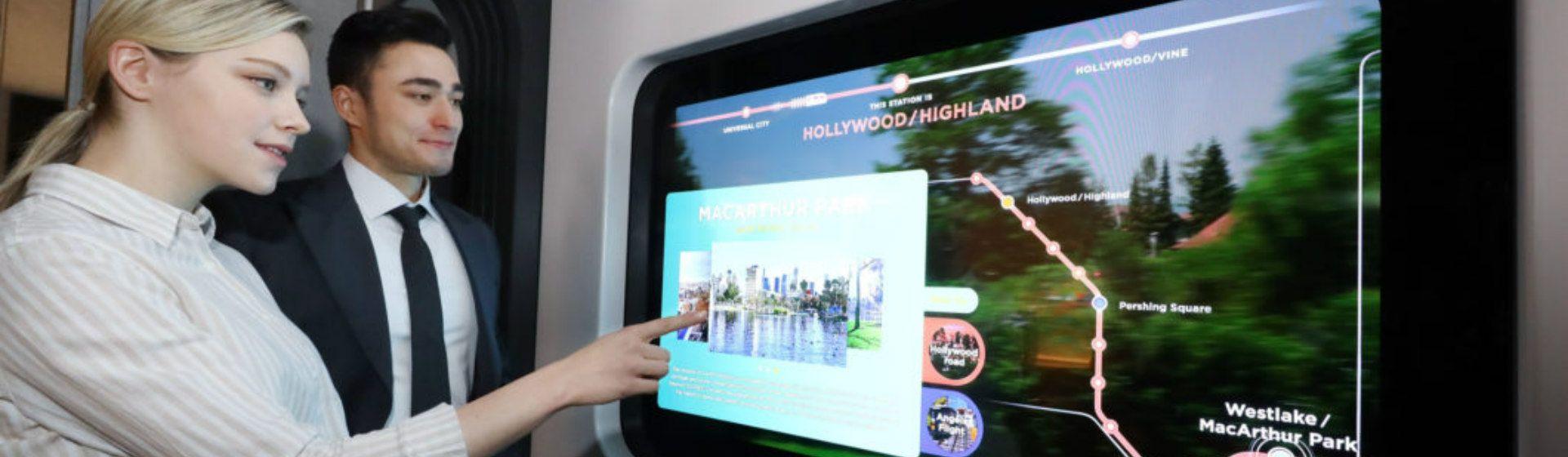 LG demonstra telas OLED transparentes para casas e restaurantes