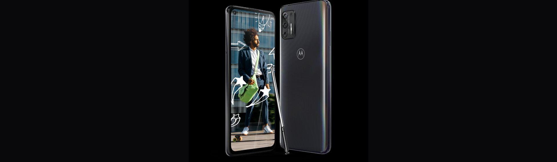 Motorola lança o Moto G Stylus 2021 com caneta embutida