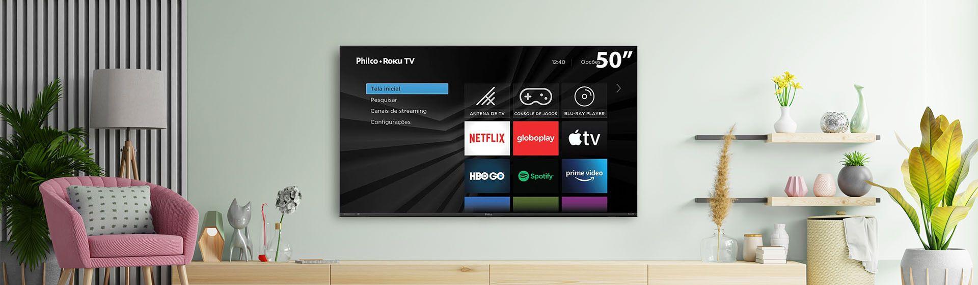 Philco anuncia lançamento de Roku TV 4K com Dolby Audio e HDR10 no Brasil