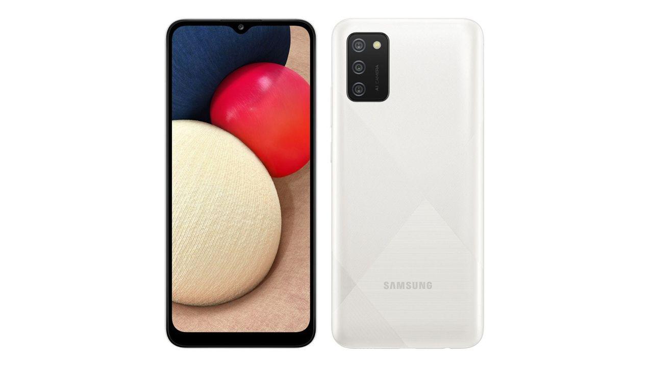 Samsung Galaxy A02s. (Foto: Divulgação/Samsung)