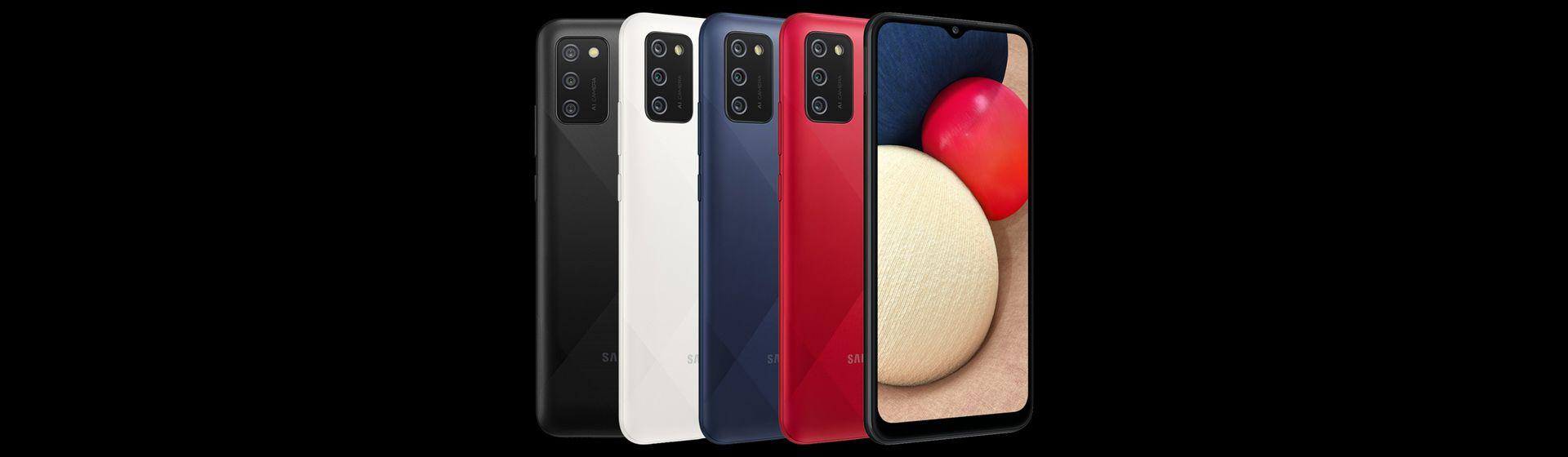 Samsung lança Galaxy A12 e A02s, intermediários com boas câmeras e bateria de 5.000 mAh